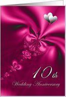 Elegant, silky, purple 10th Wedding Anniversary invitation Card by Greeting Card Universe. $3.00. 5 x 7 inch premium quality folded paper greeting card. Find Wedding Anniversary invitations for your special event at Greeting Card Universe. Show your loved ones you care with a custom invitation to celebrate your event. Look no further than Greeting Card Universe for your Wedding Anniversary invitation needs. This paper card includes the following themes: wedding,...