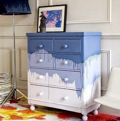 Ideas To Give Old Furniture New Life. Great idea for craft storage drawers