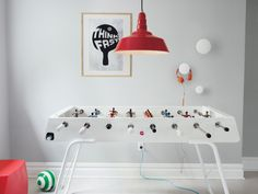 """After years spent making molds in his family workshop, Rafael Rodríguez thought, """"Why not?"""" and decided to begin work on a foosball table to satisfy a creative urge. As he himself says, """"Creativity is not something with its source in the mind; it's a gut feeling."""""""