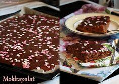 Mustikkasuu: Kotiinpaluu-piirakka Breakfast, Cake, Desserts, Food, Red Peppers, Morning Coffee, Tailgate Desserts, Deserts, Kuchen
