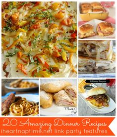 20 amazing dinner ideas on iheartnaptime.net #recipes