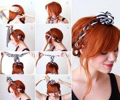 O turbante e suas mil e uma utilidades. Pentado DI-VI-NO! #tranças #hair #turbantes