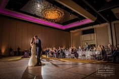 Gorgeous ballroom reception | Hyatt Regency Lost Pines Wedding | Dustin Meyer Photography