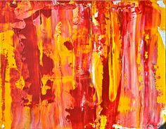 "Saatchi Art Artist Geoff Howard; Painting, ""Fire"" #art"
