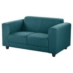 Camden Compact 2 Seat Sofa Teal