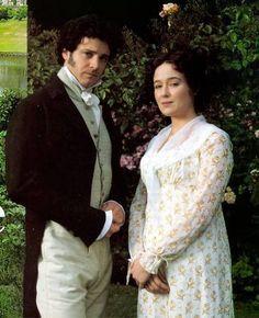 Colin Firth (Mr. Darcy) & Jennifer Ehle (Elizabeth Bennet) - Pride and Prejudice (TV Mini-Series, 1995)