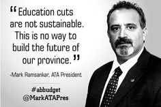#abed cuts are not sustainable #abbudget #ableg