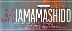 """Iamamashido il concerto solidale dei The Red Band L'evento musicale intitolato IAMAMASHIDO è stato portato avanti dai ragazzi disagiati della casa famiglia """"Il Fiore del Deserto"""" che li ha guidati verso questo percorso musicale. Il 20 gennaio sarà p #concerto #casafamiglia"""