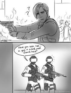 Scp Cb, Resident Evil Anime, Secret Organizations, Funny Comic Strips, Game Character Design, Identity Art, Anime Poses, Funny Clips, Creepypasta