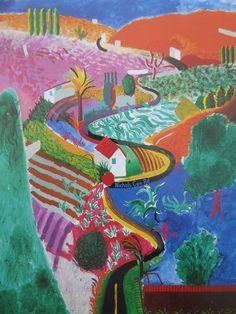 David Hockney Landscapes, David Hockney Paintings, Cy Twombly, Roy Lichtenstein, Miranda July, Hybrid Art, Pop Art Movement, Barnett Newman, Ouvrages D'art