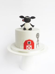 Peaceofcake ♥ Sweet Design: Timmy time cake • Bolo Timmy time