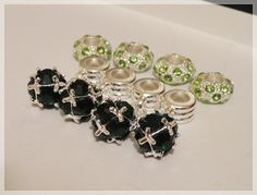 '(8) Piece Set - Pugster Euro Charms ' is going up for auction at 12pm Sun, Jan 13 with a starting bid of $5.
