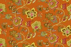 """Love these colors!   SAMOAN PLANTATION - IMAN HOME FABRICS    SUNSTONE    END USE:Drapery, Bedding, Pillows, Light Use Furniture  WIDTH:54""""  REPEAT:Vertical - 27.00""""  FIBER  CONTENT:100% Cotton  ORIGIN:China  FINISH:Soil and Stain Repellent"""