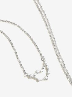 Capricorn Zodiac Constellation Necklace,