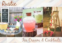 Eleven Oh Seven: SUMMER CELEBRATIONS: Ice Cream & Cocktail Party