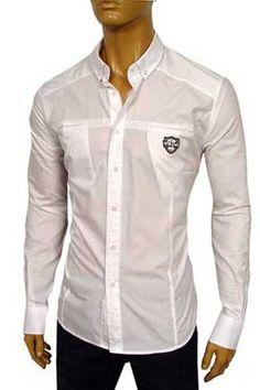 Mens Designer clothing | VERSACE Men's Dress Shirt #143 | Men ...