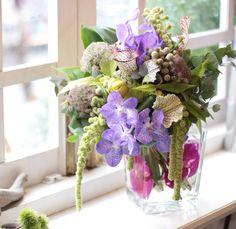 バンダ/バーゼリア/サラセニア/ブーケ/花束/花どうらく/花屋/http://www.hanadouraku.com/bouquet