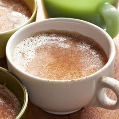 Almond milk and espresso powder combine for this cozy slow cooker drink! http://www.bhg.com/recipes/slow-cooker/slow-cooker-drinks/?socsrc=bhgpin112914horchatalatte&page=12