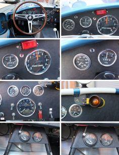 Cobra Replica, 427 Cobra, Steering Wheels, Ken Block, Car Interiors, S Car, Ford Gt, Aston Martin, Sport Cars