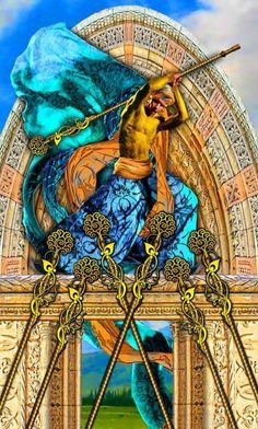 Seven of Wands, Tarot Illuminati