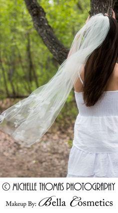 Bridal VeilTulle Veil with Floating by RoseRedBridalDesigns, $105.00