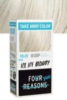 Four Reasons Take Away Color 10.01 Ice Ice Blondy (Mycket ljus askblond) | Lyko.no