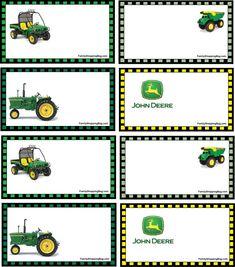 20 John Deere Tractor Birthday Party Ideas