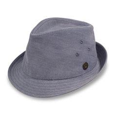 9bca7fc4757fc Deep End Cotton Fedora hat - Goorin Bros Hat Shop Straw Fedora