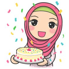 the edition of Flower Hijab is ready to enliven your chat room with her calm and cute expressions.