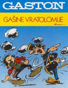 Les albums de Gaston Lagaffe - Les autres langues