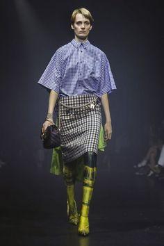 Balenciaga Fashion Show Ready to Wear Collection Spring Summer 2018 in Paris