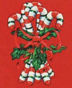 Candy Cane Lane Vintage Christmas Wrapping Paper, Vintage Christmas Images, Retro Christmas, Christmas Pictures, Christmas Past, Christmas Candy, Christmas Themes, Christmas Tablescapes, Christmas Parties