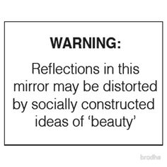 'Socially Constructed Beauty' Sticker by brodhe Mood Quotes, Life Quotes, Funny Quotes, Cool Stickers, Printable Stickers, Wallpaper Stickers, Mirror Stickers, Snapchat Stickers, Aesthetic Stickers