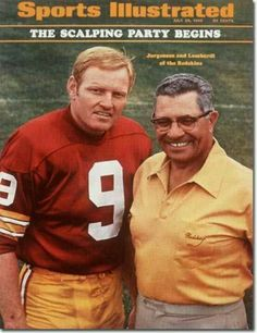The Ol' Redhead with Lombardi