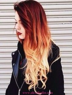 Beste Ombre Haarfarbe Ideen im Jahr Neu zu versuchen Best Ombre Hair Color Ideas in the Year Try New Up Nowadays, Ombre is the most popular hair color Best Ombre Hair, Ombre Hair Color, Cool Hair Color, Hair Colors, Red Blonde Ombre Hair, Fire Ombre Hair, Ombre Hair Dye, Blonde Redhead, Magenta Hair