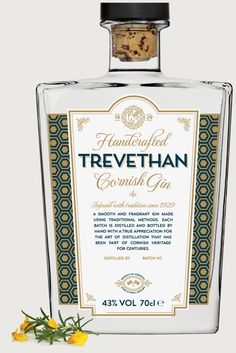 Here at Trevethan Distillery we handcraft our own unique and truly Cornish gin from local hedgerow ingredients and family recipes.