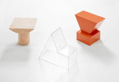 TABLE, CHAIR AND CHANGER by GUILLERMO SANTOMA