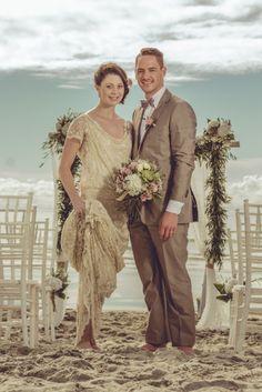 Beautiful beach weddings at Papamoa Beach, New Zealand