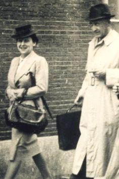 Hermann and Auguste van Pels (Van Dann). Amsterdam, 1941.