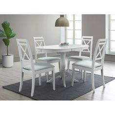 Masa rotunda Extensibila Alba Verili L100-130 Dining Chairs, Furniture, Home Decor, Products, Drawing Rooms, Decoration Home, Room Decor, Dining Chair, Home Furniture