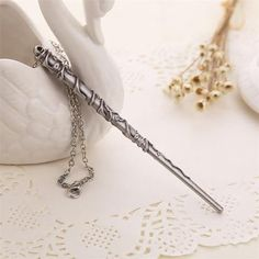 Vintage Harry Potter Inspired Wand Necklace - Hermione