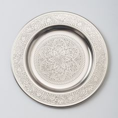 Etched Blossom Tray, Small in House+Home KITCHEN+DINING Dining Boards+Serveware at Terrain $18