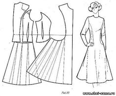 15 New ideas for dress pattern princess vintage sewing Techniques Couture, Sewing Techniques, Pattern Cutting, Pattern Making, Vintage Patterns, Vintage Sewing, Sewing Hacks, Sewing Projects, Clothing Patterns