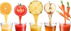 3 heerlijke & gezonde sapjes