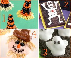 Spider Cupcakes & More Cute Halloween Treats
