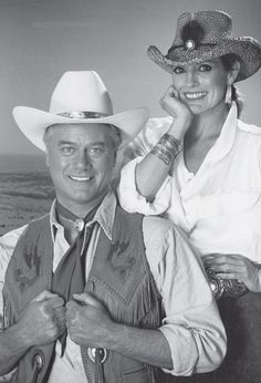 J.R. and Sue Ellen.