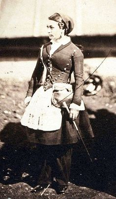 "Vivandieres of the American Civil War - ""These brave women traveled with the soldiers for little or no pay as mascots, sutlers & nurses, while some even fought alongside their male counterparts. Both Zouaves & Vivandieres were occupied by Union & Confederate troops from the armies of France. Generally the wife or daughter of a soldier, they were highly respected & admired, unlike women who masqueraded as men in order to fight."""