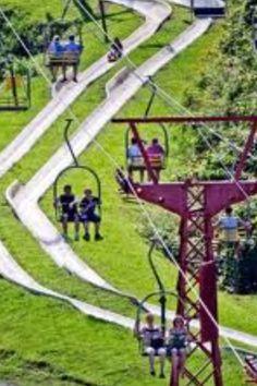 travel ideal, road trip, tennesse alpine slide, alpin slide