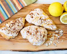 Lemon almond scones