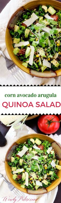 ... Salad is the perfect quinoa salad for summer! It makes a great vegan